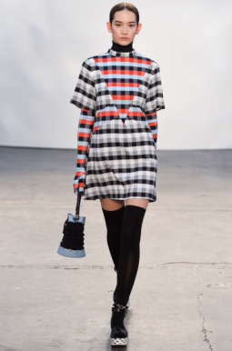 tanya taylor, gingham, style.com, aw15